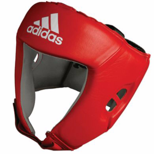 Adidas AIBA Licensed Headguard - Red