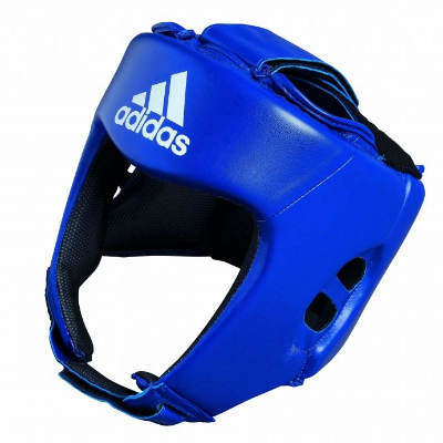 Adidas AIBA Style Training Head Guard - Blue