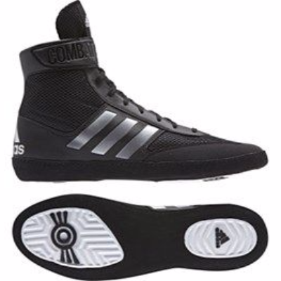 Adidas Combat Speed 5 Wrestling Boots - Black