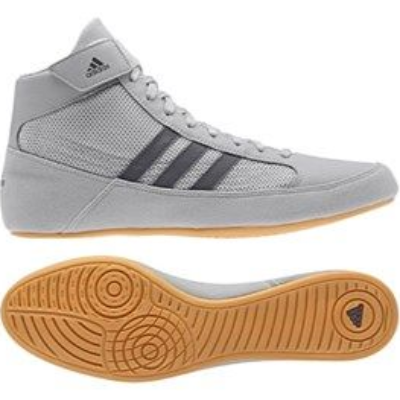 Adidas Havoc Wrestling Boots - Light Grey