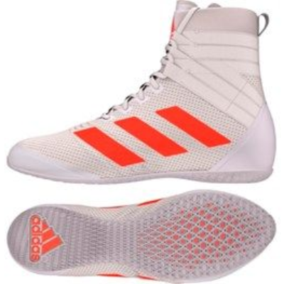 Adidas Speedex 18 Boxing Boots - White/Orange