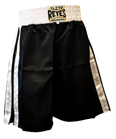 Cleto Reyes Boxing Shorts - Black/White
