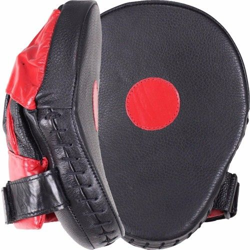Cleto Reyes Curved Focus Mitts - Black/red