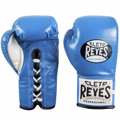 Cleto Reyes Traditional Contest Gloves - Blue