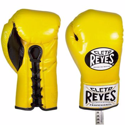 Cleto Reyes Traditional Contest Gloves - Yellow