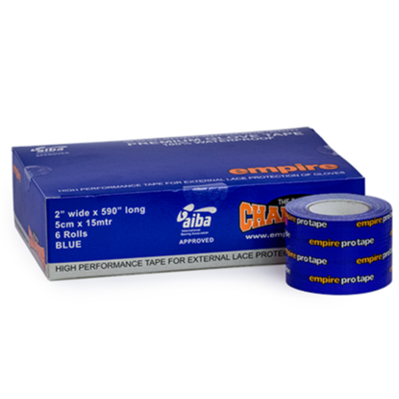 Empire Premium Glove Tape - Blue 5cm X 15m (Box of 6)