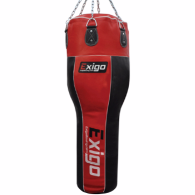 Exigo 4ft Leather Angle Punch Bag