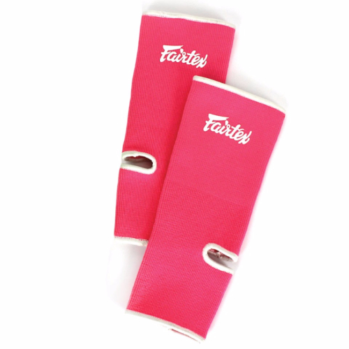 Fairtex Ankle Supports - Pink/White