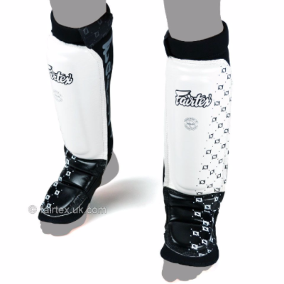 Fairtex MMA Shin Guards - White