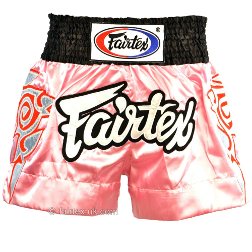 Fairtex Pink Muay Thai Shorts