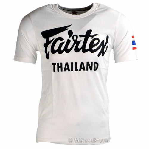 Fairtex Thailand T-shirt - White