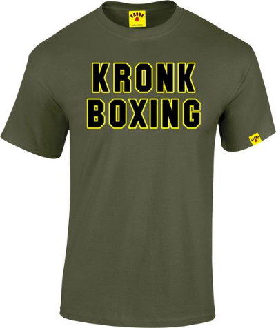 Kronk Boxing Classic T-Shirt - Military Green