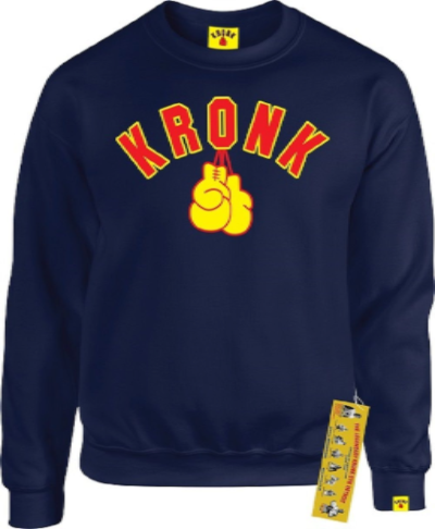 Kronk Boxing Gloves Sweatshirt - Navy