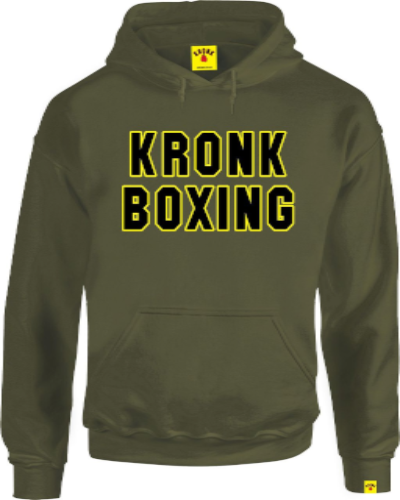 Kronk Boxing Hoody - Military Green