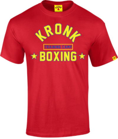 Kronk Boxing Training Camp T-Shirt - Red