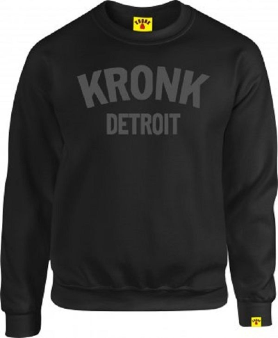 Kronk Detroit Sweatshirt - Black
