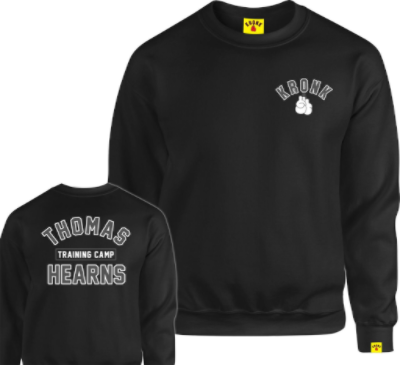 Kronk Thomas Hearns Training Camp Sweatshirt - Black