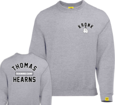 Kronk Thomas Hearns Training Camp Sweatshirt - Sport Grey