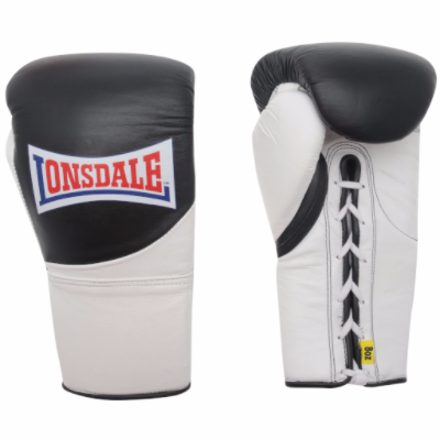 Lonsdale MK2 Pro Fight Gloves - Black