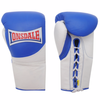 Lonsdale MK2 Pro Fight Gloves - Blue/White