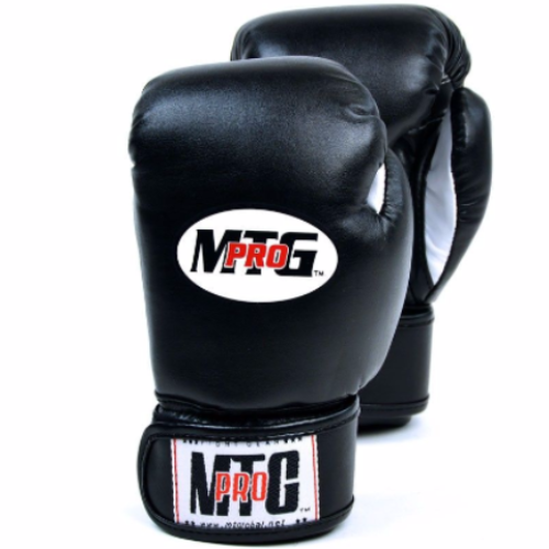 MTG Kids Boxing Gloves - Black (4oz)