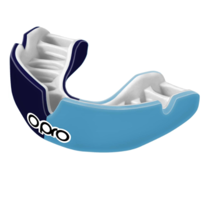 Opro Power-Fit Mouthguard - Navy/Blue