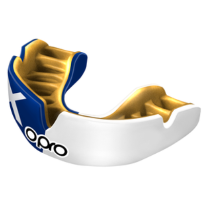 Opro Power-Fit Mouthguard - Scotland Flag