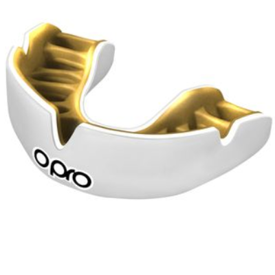 Opro Power-Fit Mouthguard - White