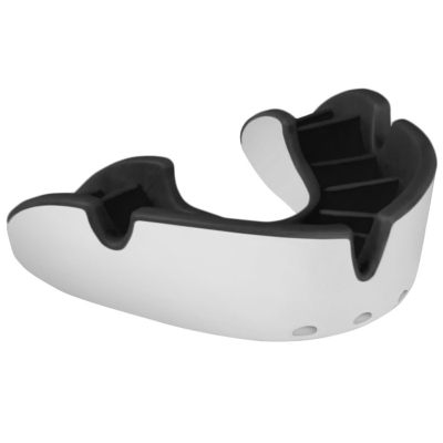Opro Silver Gum Shield - White