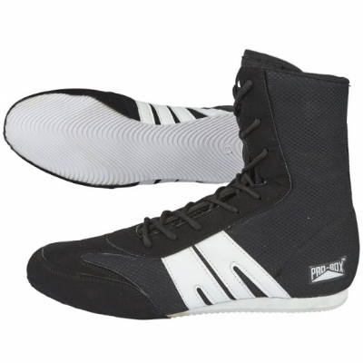 Pro-Box Junior Boxing Boots - Black