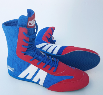 Pro-Box Junior Boxing Boots - Blue/Red