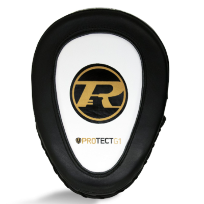 Ringside G1 Hook & Jab Pads - White/Gold
