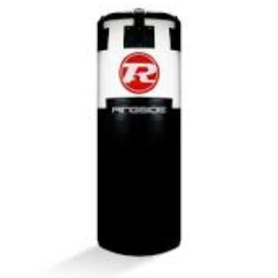 Ringside Jumbo Punchbag Black/White