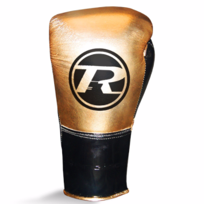 Ringside Pro Contest Gloves - Metallic Gold