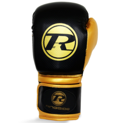 Ringside Pro Fitness Boxing Gloves - Black/Gold