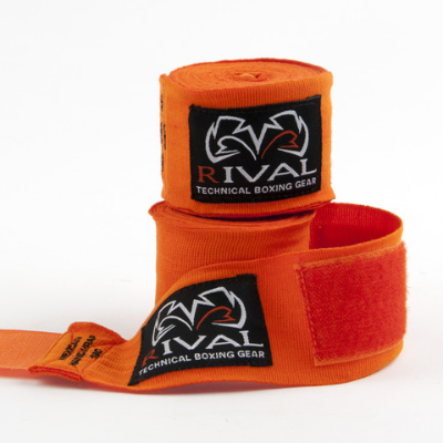 Rival Mexican Handwraps 5m - Orange