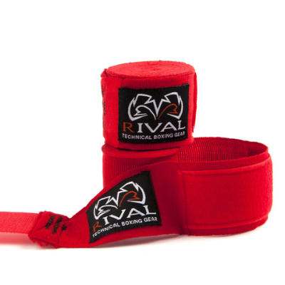 Rival Mexican Handwraps 5m - Red