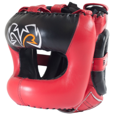 Rival RHGFS3 Face Saver Head Guard - Red/Black