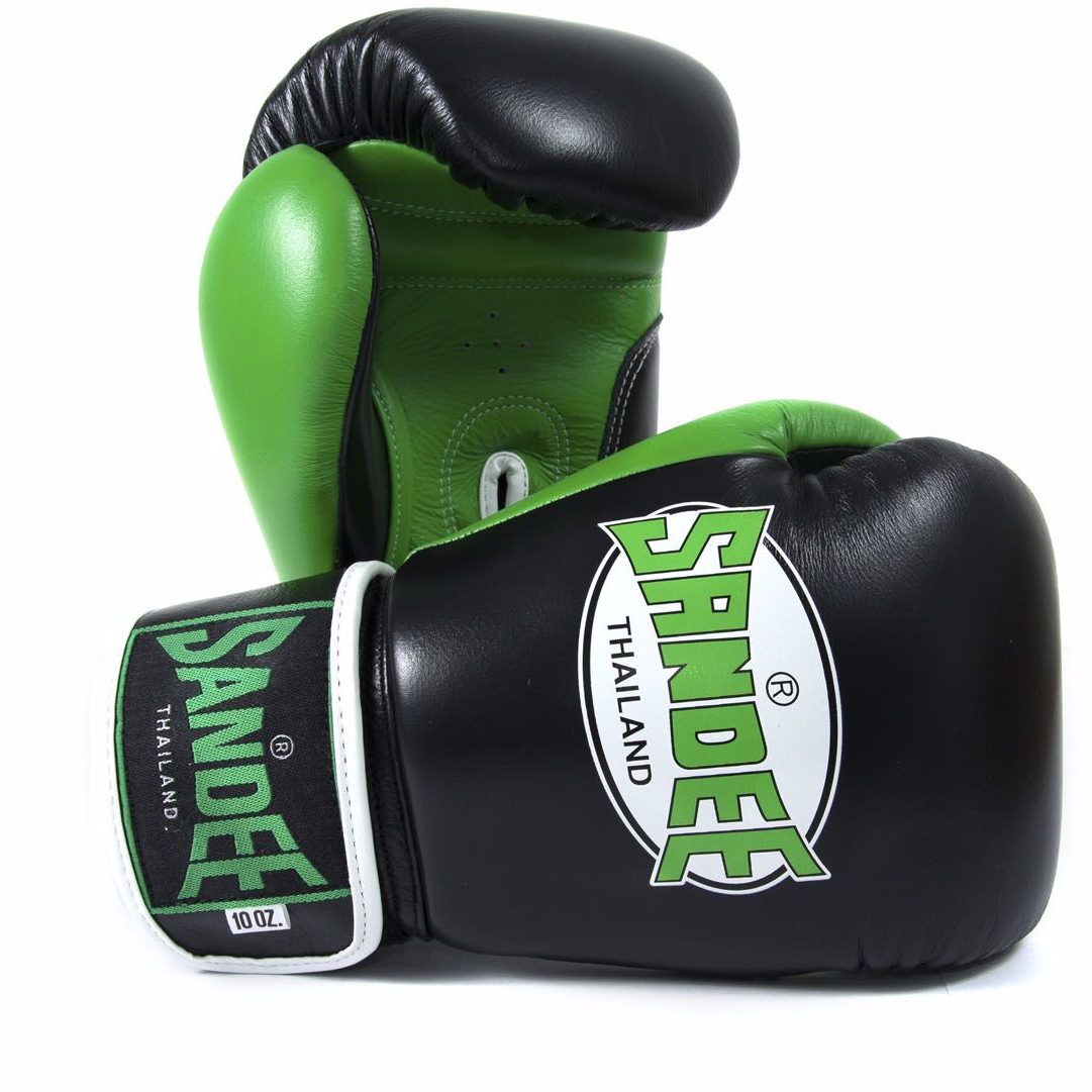 Nike Velcro Gloves: Sandee Neon Velcro Boxing Gloves