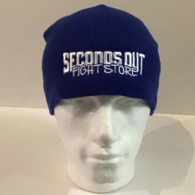 Seconds Out Beanie - Blue