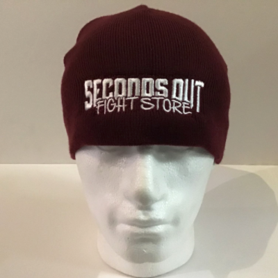 Seconds Out Beanie - Maroon