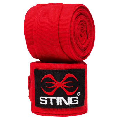 Sting 4.5m Handwraps - Red