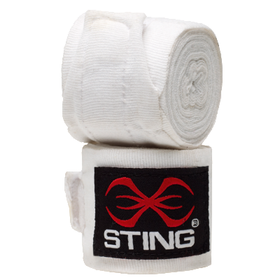 Sting 4.5m Handwraps - White