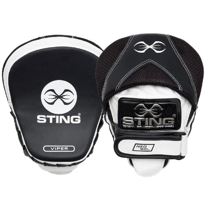 Sting Viper Speed Focus Mitts - Black/White