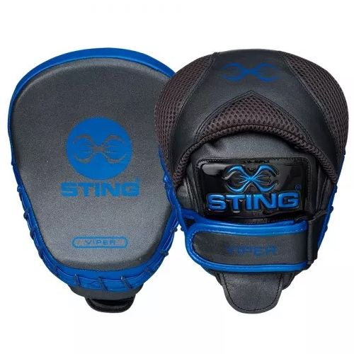 Sting Viper Speed Focus Mitts - Grey/Blue