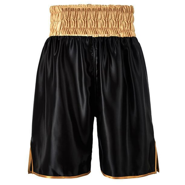 Suzi Wong Boxing Shorts - Black/Gold