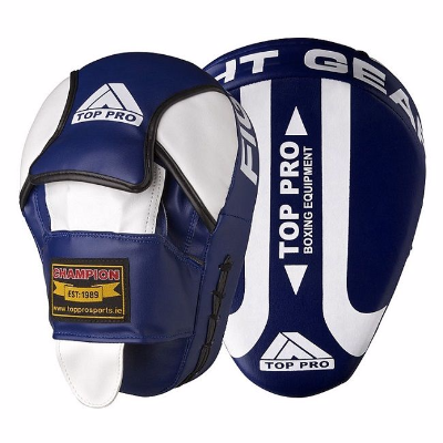 Top Pro Champion Focus Pads - Blue