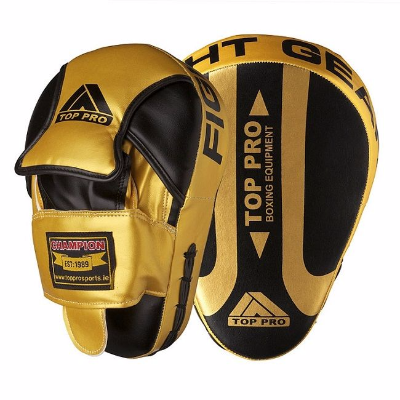 Top Pro Champion Focus Pads - Gold