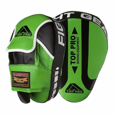 Top Pro Champion Focus Pads - Green
