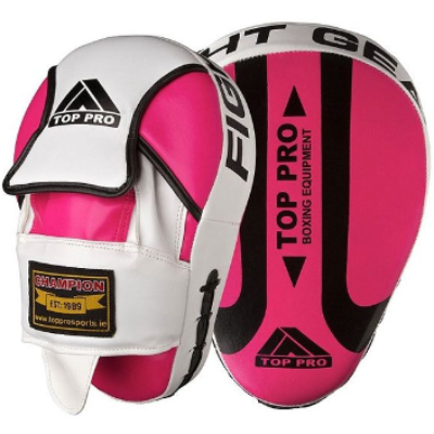 Top Pro Champion Focus Pads - Pink